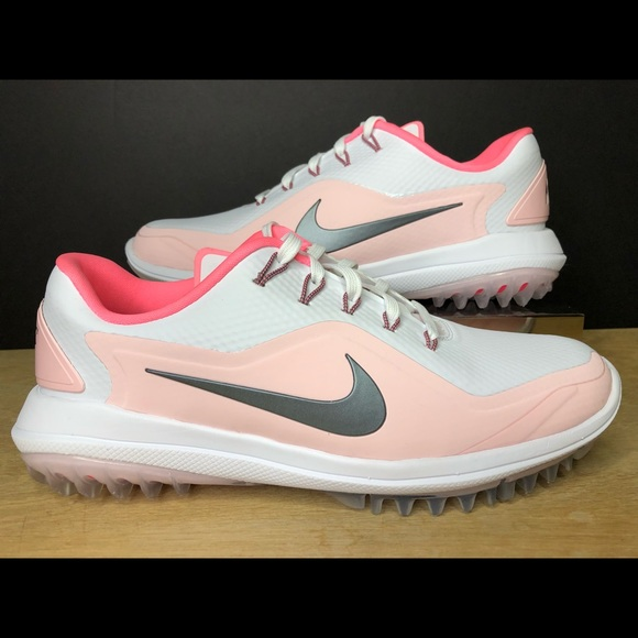 cheaper 1ee1d 3e28b Nike Lunar Control Vapor 2 Golf Shoes Arctic Pink